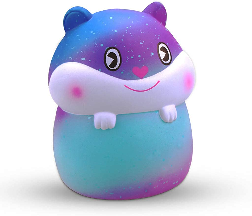 Juguetes antiestrés,JiaMeng Mini Adorable Hamster Super Slow Rising Kids Fun Juguete para aliviar el estrés Regalo de Juguete: Amazon.es: Ropa y accesorios
