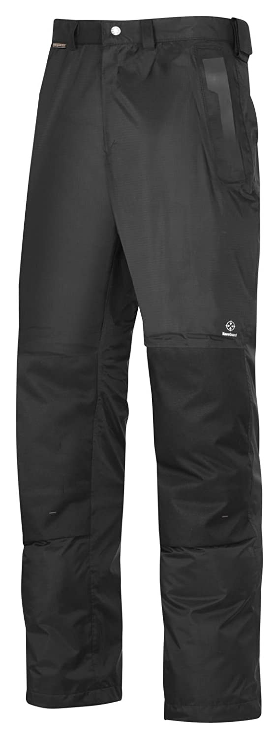 """Snickers 33780400056 Size 56 """"A.P.S."""" Waterproof Trousers - Black"""