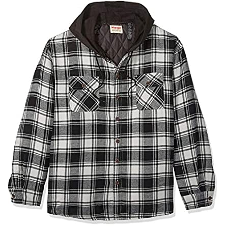 Wrangler Authentics Men's Long Sleeve Quilted...