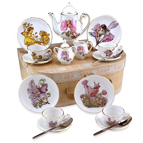 Flower Fairies Child's Tea Set By Reutter Porcelain - (Me...