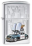 Zippo Car & Building Lighter, High Polish Chrome