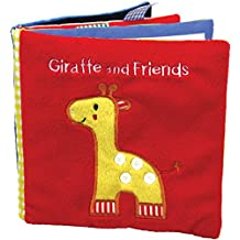 Giraffe and Friends: A Soft and Fuzzy Book for Baby
