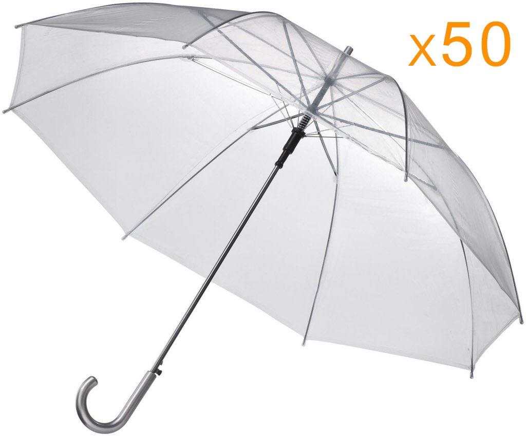 EZbrella Wholesale Clear Umbrellas