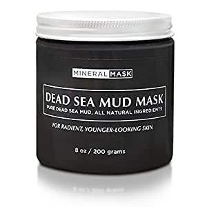 PREMIUM DEAD SEA MUD MASK! 100% Money Back Guarantee!   8oz Bottle  Instantly reduce acne   Hydrate your skin and lessen your wrinkles - Remove blackheads & pimples - Erase Sun Spots