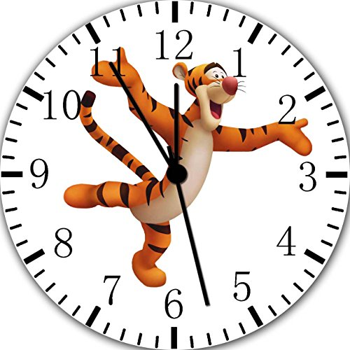 Tigger Winnie The Pooh Borderless Frameless Wall Clock E130 Nice For Decor Or Gifts