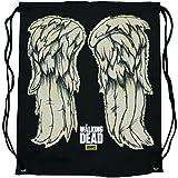 The Walking Dead Daryl Wings Cinch Bag Laptop Backpack