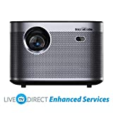 Home Projector, LiveTV.Direct Enhanced H3 Native 1080p HD 1900 ANSI Lumens Android 3D Smart TV Home Video Movie 4K Projector Built-in Harman/Kardon Hi-Fi Stereo Speaker
