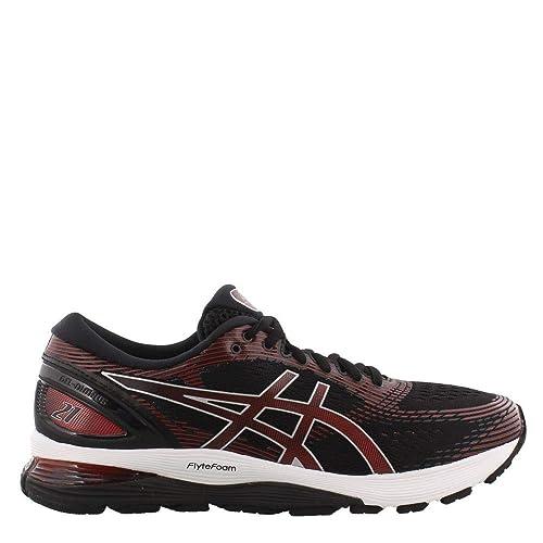 ASICS Herren Gel Nimbus 21 Schuhe, 48 EU, BlackClassic