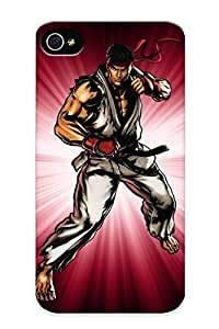 Freshmilk D4417341827 Protective Case For Iphone 4/4s(ryu Ultimate Marvel Vs Capcom 3) - Nice Gift For Lovers