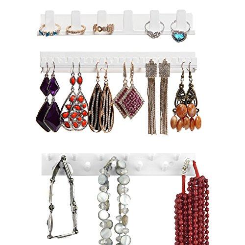MyGift Bracelet Necklace Jewelry Organizer