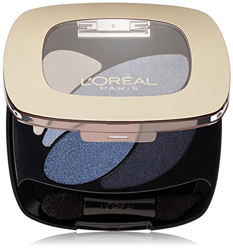 L'Oreal Paris Colour Riche Dual Effects Eyeshadow, Eternal Blue [280] 0.12 oz