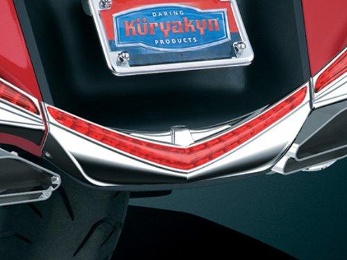 Kuryakyn 3236 LED Rear Fender Tip with Run-Brake Accent