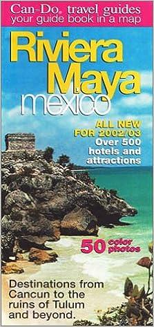 Can-Do Riviera Maya, Mexico Guide/Map: Laura McFarlin: 9781586111120 ...