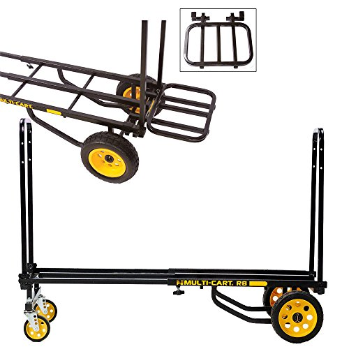Cargo Equipment - Rock N Roller R8RT Equipment Cart with RRK1 Cargo Extension Rack