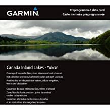 Garmin Inland Lakes Yukon Canada Freshwater Map microSD Card (Discontinued by Manufacturer)
