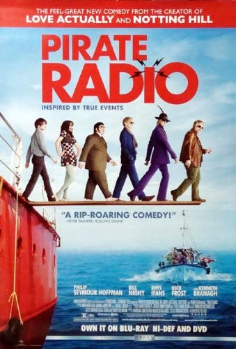 """Pirate Radio Movie Poster 27"""" X 40"""" (Approx.): Amazon.co.uk: Kitchen & Home"""