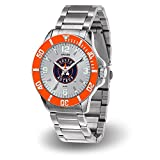 Houston Astros MLB Key Watch with Stainless Steel Band