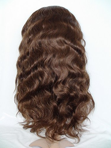 High-Quanlity Front Lace Wig Beautiful Wig European Virgin Remy Human Hair Body Wave Color #4