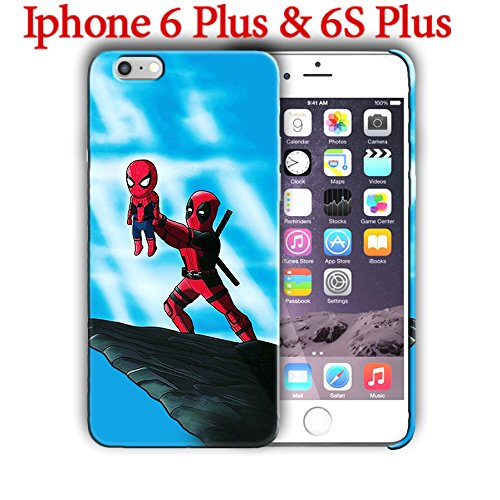 Spiderman (for Iphone 6 Plus / Iphone 6s Plus) 5.5in Hard Case Cover (spider9)