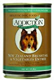 Addiction Pet Foods NZ Brushtail and Vegetables Entree Dog Food, 13.8-Ounce, My Pet Supplies
