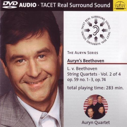 SACD : Auryn Quartett - String Quartets 2 (DVD Audio)