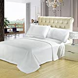 Royal Tradition Hotel - Queen -White-Checkered Quilted Wrinkle-Free - Best Reviews Guide
