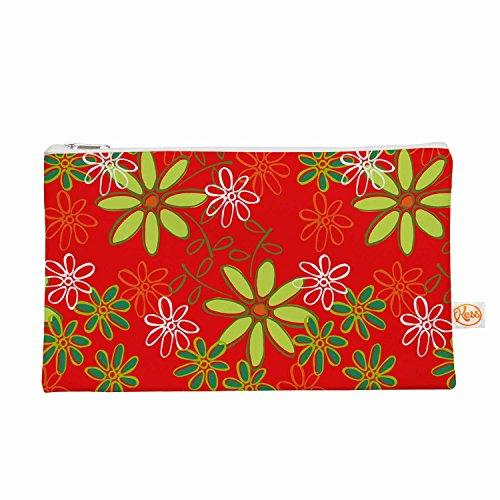 Kess eigene 12,5x 21,6cm holly HELGESON Daisy Mae Alles Tasche–Rot Blumenmuster