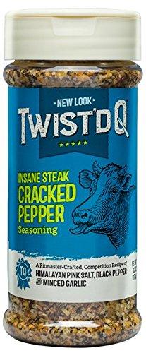 (Twist'd Q Insane Steak Cracked Pepper Seasoing )