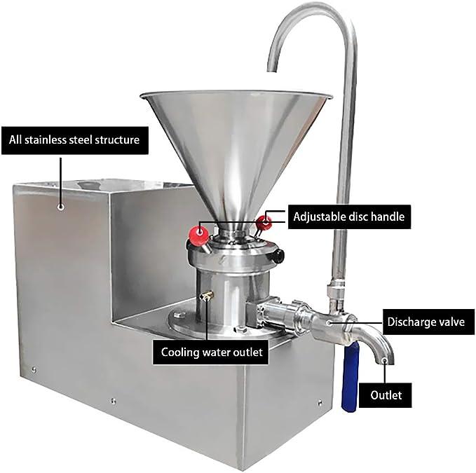MXBAOHENG Máquina de molino coloide de 4, 1 l, máquina ...