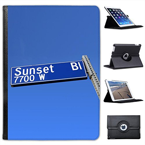 sunset-boulevard-road-sign-hollywood-california-for-apple-ipad-air-2013-version-faux-leather-folio-p