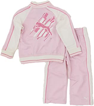 Puma Baby Niña Verano Chándal para Outfit Chaqueta + pantalones ...