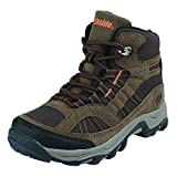 Northside Unisex Rampart MID Waterproof Hiking Boot, Brown, 6 Medium US Big Kid