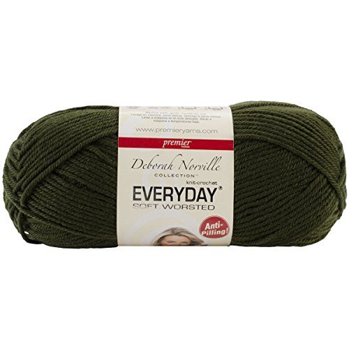 ``Deborah Norville Collection Everyday Solid Yarn-Pine Green, Set Of 3`` supplier_pens_n_more