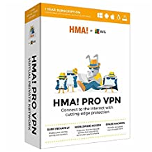 AVG HMA! PRO VPN Multi Device 1 YEAR SUBSCRIPTION (KEY CARD IN BOX. NO CD)