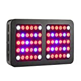 Lxyoug 600W LED Grow Light - Full Spectrum Reflector-Series Plant Grow Light with Rope Hanger for Indoor Plants Veg & Bloom -600W(10W LEDs 60Pcs)