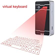 Mini Wireless Bluetooth Virtual Keyboard Cube Projection For Iphone Ipad Smartphone and Tablets