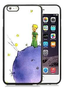 Hot Sale iPhone 6 Plus TPU Screen Case ,Little Prince Lovely Black iPhone 6 Plus 5.5 Inch TPU Unique And Popular Designed Phone Case