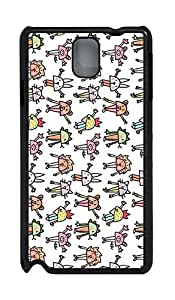 Covers For Samsung Galaxy Note 3 - Summer Wholesale Lovely Customize White Rabbit PC Black Cases