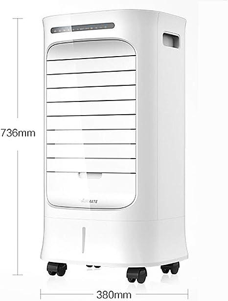 MU Hogar Salón Dormitorio Ventilador-Evaporativo Enfriador de Aire, Aire Acondicionado móvil Los niños Pueden ser cronometrados,C: Amazon.es: Deportes y aire libre