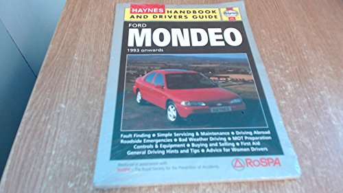Ford Mondeo Handbook and Drivers' Guide (Handbooks & drivers' guides)