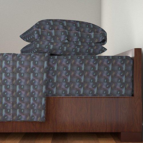Portland Cotton Sheet Set - Roostery Zombie 4pc Sheet Set Portland Zombie by Sdh King Sheet Set Made