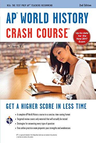 AP World History Crash Course, 2nd Ed.,  Book + Online (Advanced Placement (AP) Crash Course)