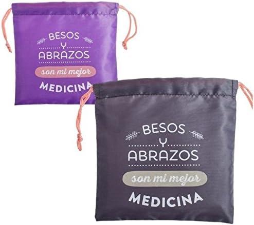 Bolsas de viaje para medicinas 22x22 cm