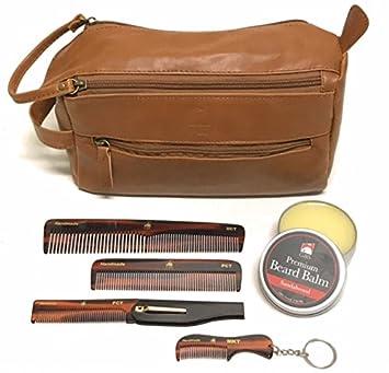 8d4e1cc4c122 Amazon.com : GBS Men's Travel Grooming Set - Doppler Travel Bag + ...