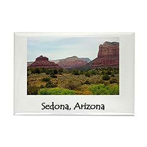 "CafePress - Sedona, Arizona Rectangle Magnet - Rectangle Magnet, 2""x3"" Refrigerator Magnet"