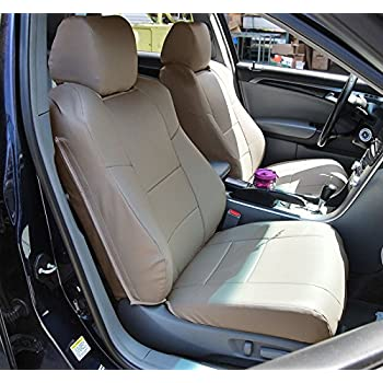 Amazon.com: Custom Seat Covers for Acura TL Front Low Back Seats ...