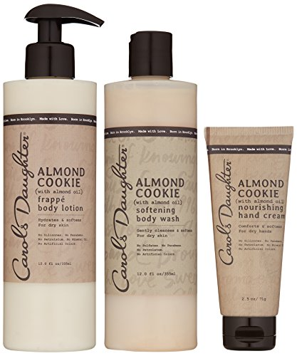 Carols Daughter Almond Cookie Body Gift Set for Dry Skin (Carols Daughter Cosmetics)