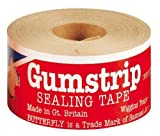 Gumstrip Butterfly Traditional Tape, Adhesive Brown, 1.8 x 9.6 x 17 cm