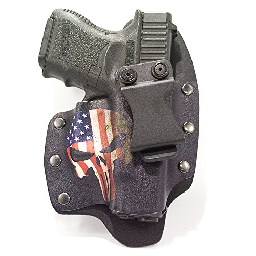 USA Punisher IWB Hybrid Concealed Carry Holster (Right-Ha...