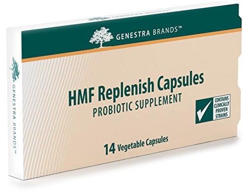 Genestra Brands - HMF Replenish Capsules - Five Strains of Probiotics to Promote GI Health* - 14 Capsules by Genestra Brands